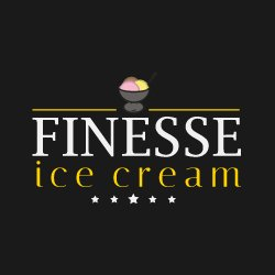 Finesse Ice Cream logo