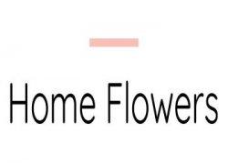 Home Flowers- Green Flower logo
