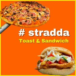 #Stradda Toast&Sandwich logo
