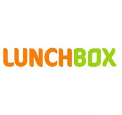 Lunch box from Lunchbox Nord logo