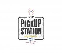 Noua Pickup Station - aprovizionat cu peste de luat acasa logo