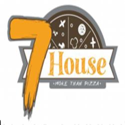 Pizza 7 house logo