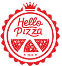 Hello Pizza logo