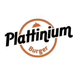 Plattinium Burger logo