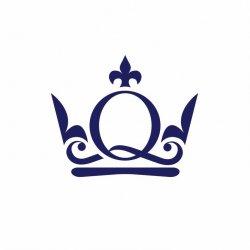 Queens pizza pasta logo