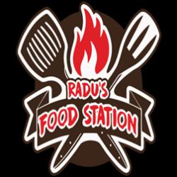 Radu`s Food Station Delivery logo
