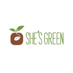 She`s green logo