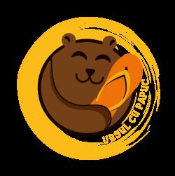 Ursul cu Papuc logo