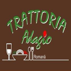 Trattoria Adagio Piata Romana logo