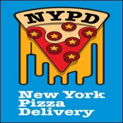 Pizza NYPD Delivery logo