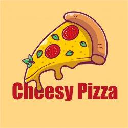 Cheesy Pizza logo