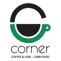 Corner - coffee and lowcarb food logo