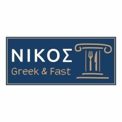 Nikos Greek & Fast Promenada logo