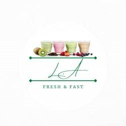 L.A Fresh & Fast logo
