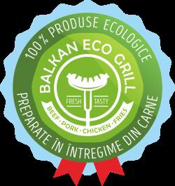 Grill Balkan Barbu Vacarescu  logo