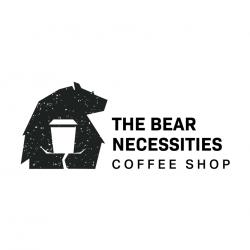 The Bear Necessities Coffee Shop logo