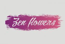 Zen flowers logo