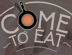 Come to eat logo