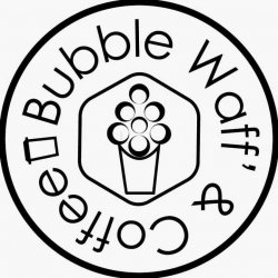 Bubble Waff` & Coffee logo