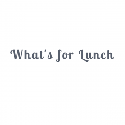 What`s for Lunch logo