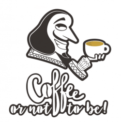Coffee or not to be ! logo