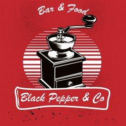 Black Pepper&Co logo