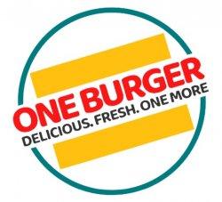 One Burger logo