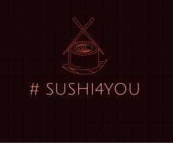SUSHI 4 YOU logo