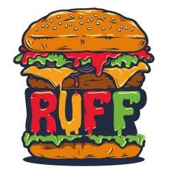 Ruff Burger logo