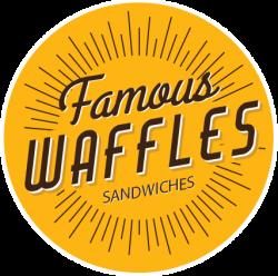 Famous Waffles Promenada logo