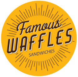 Famous Waffles Shopping City logo
