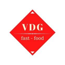 VDG fast food logo