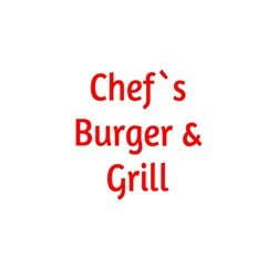 Chef's Burger & Grill logo