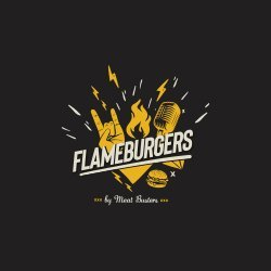 Flame Burgers Vulcan Value Centre logo