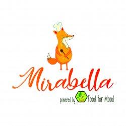 Mirabella powered by #foodFORmood logo