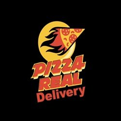 Pizza Real Delivery logo