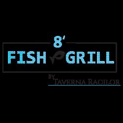 8` Fish & Grill by Taverna Racilor logo