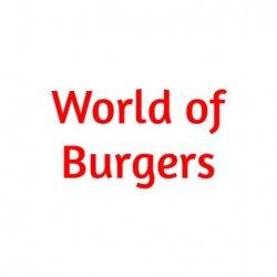 World of Burgers logo