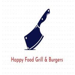 Happy Food Grill & Burgers logo