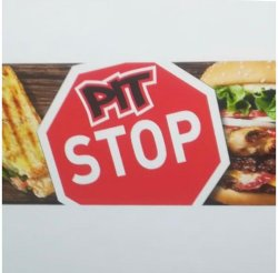 Pit Stop Burger and More logo
