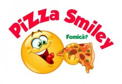Smiley Pizza  logo