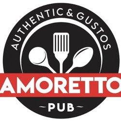 Amoretto Pub logo