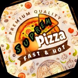 Suprem Pizza logo