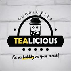 Tealicious Bubble Tea logo