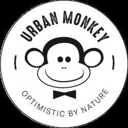 Urban Monkey - Swan logo