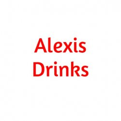 Alexis drinks logo