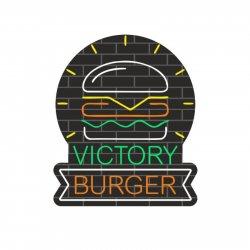 Victory Burger logo