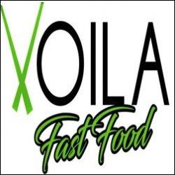 Voila Fast Food logo