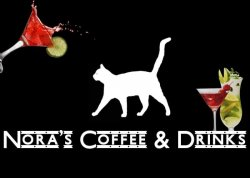 Nora`s coffee and drinks logo