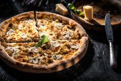 Pizza Pollo e Funghi 40 cm